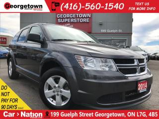 Used 2014 Dodge Journey CVP/SE | PUSH BUTTON | ALLOY WHEELS | for sale in Georgetown, ON
