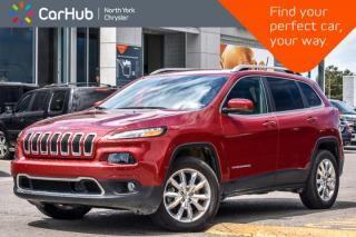 Used 2017 Jeep Cherokee Limited AWD|SafetyTec|Keyless_Go|BlindSpot|Leather|R_Start|18