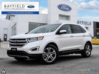 Used 2017 Ford Edge Titanium |AWD|LEATHER|SUNROOF|NAV|BLUETOOTH|CRUISE| for sale in Barrie, ON