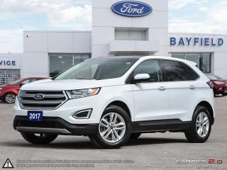 Used 2017 Ford Edge SEL |AWD|NAVIGATION|SUNROOF|LEATHER|COLD WEATHER PKG| for sale in Barrie, ON