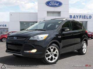 Used 2015 Ford Escape Titanium |AWD|LEATHER|SUNROOF|NAVIGATION|TECHNOLOGY PKG| for sale in Barrie, ON