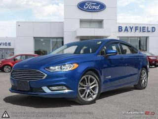 Used 2017 Ford Fusion Hybrid |HEATED SEATS|NAVIGATION|APPEARANCE PKG|BACK-UP CAMERA| for sale in Barrie, ON