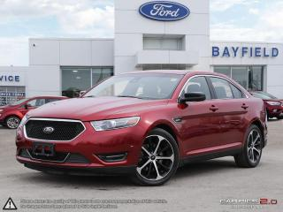 Used 2015 Ford Taurus SHO |AWD|SUNROOF|LEATHER|NAVIGATION|TECHNOLOGY PKG| for sale in Barrie, ON