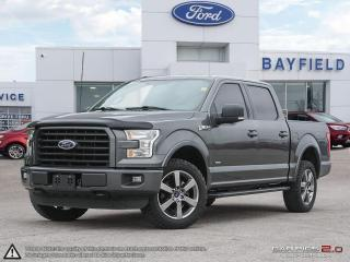 Used 2016 Ford F-150 XLT |BLUETOOTH|NAVIGATION|REMOTE START|A/C| for sale in Barrie, ON