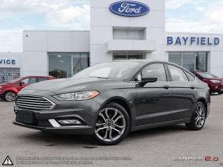Used 2017 Ford Fusion |FWD|SUNROOF|REVERSE CAMERA|BLUETOOTH|CRUISE| for sale in Barrie, ON