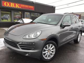 Used 2013 Porsche Cayenne Diesel-Nav-T.ouvrant for sale in Laval, QC