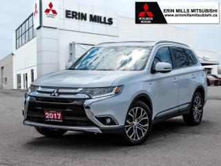 Used 2017 Mitsubishi Outlander GT-S, 3.0L V-6, S-AWC, Leather, Navigation, Sunroof for sale in Mississauga, ON