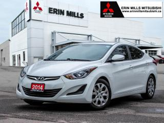 Used 2014 Hyundai Elantra GL, Auto, Heated Front Seats, Bluetooth for sale in Mississauga, ON
