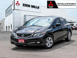 Used 2014 Honda Civic LX, Auto, Heated Front Seats, Bluetooth for sale in Mississauga, ON