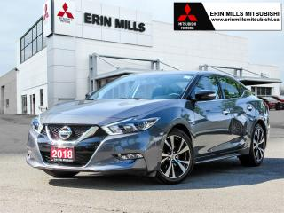 Used 2018 Nissan Maxima SV, Leather, Navigation, Power Driver's Seat, Heated Front Seats for sale in Mississauga, ON