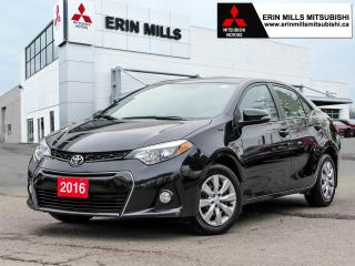 Used 2016 Toyota Corolla S Heated Front Seats, Backup Camera, Bluetooth for sale in Mississauga, ON