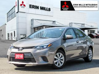 Used 2016 Toyota Corolla LE, Heated Front Seats, Backup Camera, Bluetooth for sale in Mississauga, ON