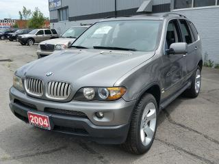 Used 2004 BMW X5 4.4i for sale in Brampton, ON