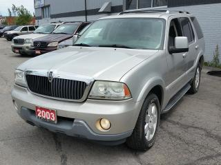 Used 2003 Lincoln Aviator for sale in Brampton, ON