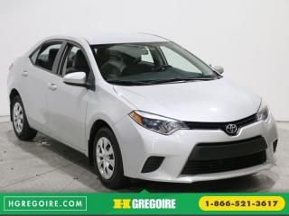 Used 2014 Toyota Corolla CE A/C GR ÉLECT for sale in Saint-leonard, QC