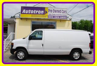 Used 2012 Ford E-150 1/2 Ton Econoline Cargo Van, A/C for sale in Woodbridge, ON