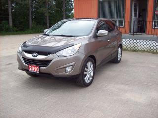 Used 2010 Hyundai Tucson Limited w/Nav for sale in Sundridge, ON