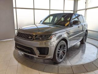 Used 2018 Land Rover Range Rover Sport Supercharged Dynamic - Certified Pre-Owned Warranty until June 27, 2023 or 160,000 Kilometres, with Certified Rates from 2.9% for sale in Edmonton, AB