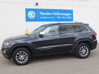 Used 2014 Jeep Grand Cherokee LIMITED 4X4 - HEATED LEATHER / SUNROOF / NAVI for sale in Edmonton, AB