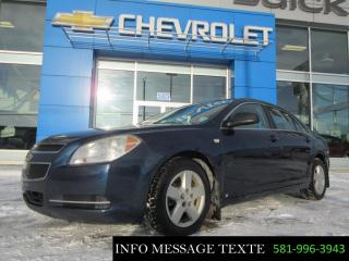 Used 2008 Chevrolet Malibu for sale in Ste-Marie, QC