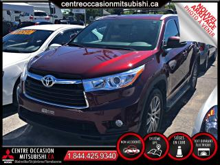 Used 2015 Toyota Highlander XLE AWD CUIR/TOIT/NAV *PRIX IMBATTABLE* for sale in Terrebonne, QC