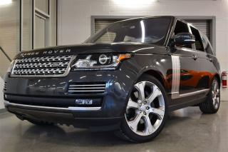 Used 2016 Land Rover Range Rover V8 for sale in Laval, QC