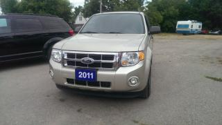Used 2011 Ford Escape XLT 4X4 for sale in Cambridge, ON