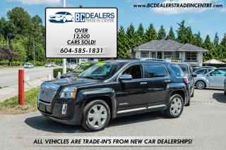 Used 2014 GMC Terrain Denali AWD, Leather, Sunroof, Bluetooth, Clean! for sale in Surrey, BC
