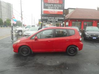 Used 2007 Honda Fit LX / LOW KMS / FUEL SAVER / ICE COLD A/C / for sale in Scarborough, ON