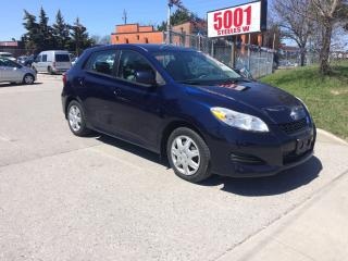 Used 2009 Toyota Matrix 5SPD,MANUAL,$5988,SAFETY+3YEARS WARRANTY INCLUDED for sale in North York, ON