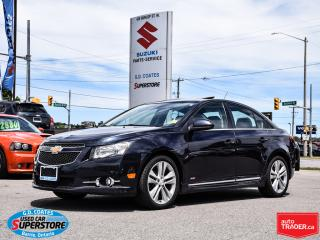 Used 2014 Chevrolet Cruze 2LT ~Backup Cam ~Heated Leather ~Power Moonroof for sale in Barrie, ON