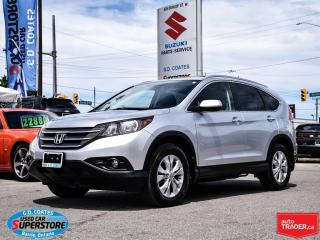 Used 2014 Honda CR-V Touring AWD ~Nav ~Backup Cam ~Heated Leather for sale in Barrie, ON
