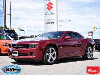 Used 2010 Chevrolet Camaro 2LT RS ~Power Moonroof ~Heated Leather for sale in Barrie, ON