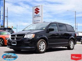 Used 2014 Dodge Grand Caravan SXT ~Full Stow 'N Go ~Backup Cam ~DVD ~Backup Cam for sale in Barrie, ON