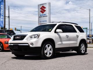 Used 2007 GMC Acadia SLT2 AWD ~7 Passenger ~Nav ~ DVD ~Panoramic Roof for sale in Barrie, ON