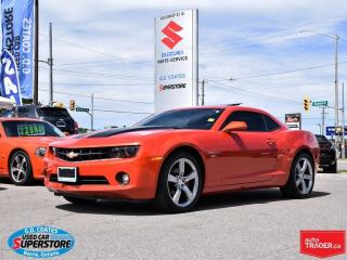 Used 2010 Chevrolet Camaro 2LT RS ~Power Moonroof ~Heated Leather ~Low KM for sale in Barrie, ON