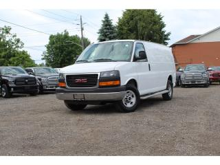 Used 2016 GMC Savana 2500 1WT*EXCEPTIONALLY CLEAN*RUNNING BOARDS*CARGO WALL* for sale in Mississauga, ON