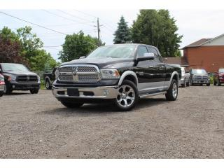 Used 2014 RAM 1500 Laramie*CREW 6.4' Bed*Sunroof*NAV*Buckets*CLEAN for sale in Mississauga, ON