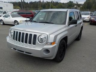 Used 2007 Jeep Patriot Sport 4WD Manual for sale in Burnaby, BC