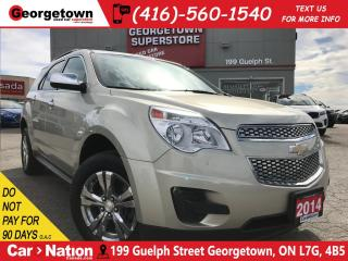 Used 2014 Chevrolet Equinox 1LT | AWD | BACK UP CAM| ALLOY WHEELS for sale in Georgetown, ON