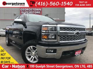 Used 2014 Chevrolet Silverado 1500 2LT | 4x4 | 5.3L V8 | BFG A/T K02 TIRES | EXHAUST for sale in Georgetown, ON