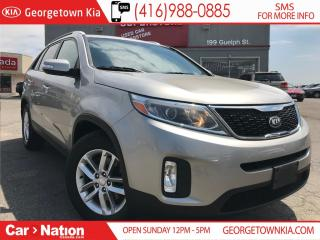 Used 2014 Kia Sorento LX | CLEAN CARPROOF | ALLOYS | BLUETOOTH | LOW KMS for sale in Georgetown, ON