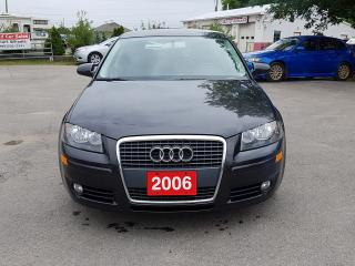 Used 2006 Audi A3 w/Sport Pkg for sale in Barrie, ON
