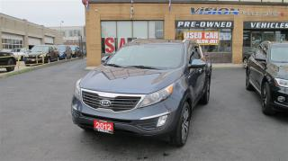 Used 2012 Kia Sportage EX Luxury AWD Leather R. Camera Dual sunroofs for sale in North York, ON