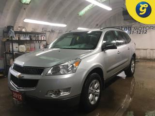 Used 2012 Chevrolet Traverse LS*AWD*8 PASSENGER*DUAL ZONE CLIMATE CONTROL w/REAR AIR CONTROL*CRUISE CONTROL*TRACTION CONTROL* for sale in Cambridge, ON