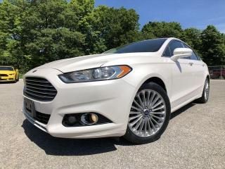 Used 2014 Ford Fusion Titanium |AWD|Sunroof|Bluetooth|Navigation|Keyless Entry| for sale in Barrie, ON