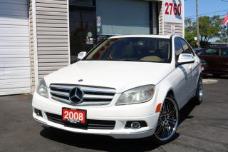Used 2008 Mercedes-Benz C-Class 300 4Matic. Navigation. Leather. Roof for sale in North York, ON
