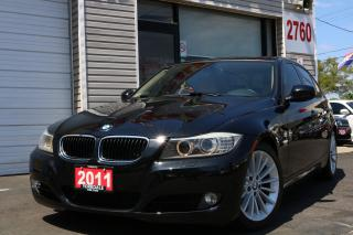 Used 2011 BMW 328 i xDrive Sport Pkg. Leather. Roof. 89 KLM for sale in North York, ON