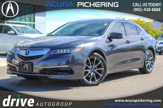 Used 2015 Acura TLX V6 Tech Navigation|Lane Keep Assist|Leather Upholstery for sale in Pickering, ON