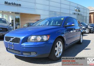Used 2007 Volvo V50 2.4i Leather, Sunroof, Heated Seats for sale in Unionville, ON